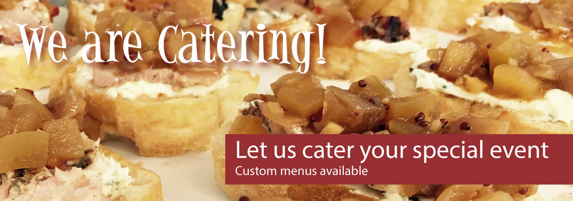 We are Catering!
