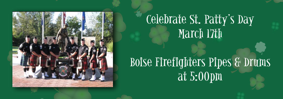 St. Patty's Day – Boise Firefighters Pipes & Drums